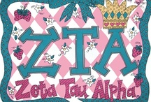 Zeta Tau Alpha / Zeta Tau Alpha Fraternity / by Barbara Priest