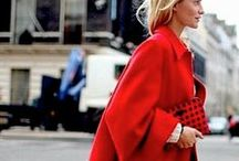 """Street Chic / """"Fashion is the science of appearances, and it inspires one with the desire to seem rather than to be.""""-Michel de Montaigne"""