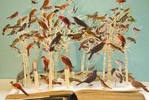 Wonder of Books / Book art. Altered books. Illustrations. Books. Books. Books.