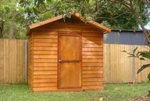 Aarons SHEDS - Timber Garden Sheds, the attractive storage solution / Australian made timber garden sheds, perfect for our outdoor climate.  Aarons are the industry leaders in design, quality, innovation and finish when it comes to transforming your backyard!