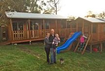 Aarons WORKSHOPS & CABINS- Granny Flats, Teenage Retreats, Home Offices, and much much more / Aarons Workshops and Cabins can be customised to make them totally yours.  Completely Australian Made and Owned.  Engineered to meet your council requirements.  Visit our website for more...
