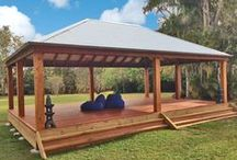 Aarons GAZEBOS - Colorbond roof entertainment areas / Aarons are the industry leaders in design, quality, innovation and finish when it comes to transforming your backyard!