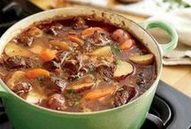 Recipes - Soup/Chowder/Chili/Stew / by Kari Rowen