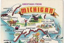 They call it the Mitten (MI) / Michigan
