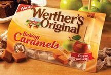 Crazy for Caramel / I LOVE Baking Caramels from Werther's Original! So yummy. I've made tons of recipes from them and can't wait to try - and share - more! Have a look... :)