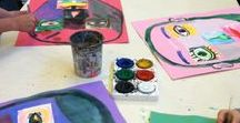 Homeschool Art / Creative homeschooling inspired by: Montessori, Unschooling, Reggio, Charlotte Mason, etc. for early elementary ages / preschool