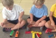 Homeschool Music / Creative homeschooling inspired by:  Montessori Unschooling Reggio Charlotte Mason
