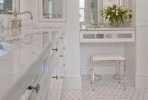 HOME:  Bath-Room / Bathrooms @ Lincoln:  Baths Classy ~ Classic ~ Greek Revival ~ Victorian 19th/20th Century / by Sophia Zisis-Hazinski