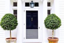 entry / inspiration for front door and entry