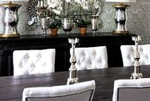 HOME:  Dining / eating areas / by Sophia Zisis-Hazinski