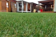 Aarons UNREAL GRASS! / Synthetic Grass   Aarons Outdoor Living are now offering a full range of premium 100% Australian made synthetic turf products.  Our range of landscaping surfaces offer the perfect solution for the perfect lawn and our all inclusive installation service is affordable and always professional.  NO WATERING, NO MOWING
