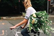 | florals and greens | / en fredagsbukett