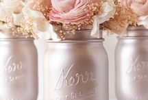 Blush Pink Wedding / All things blush for the perfect wedding. Colors that mix well with blush-- grey, gold, ivory and more!