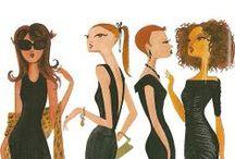 ruben toledo illustration / by d. Marlene jewelry