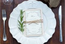 place setting ideas and table top decor / place setting ideas and table top decor / by Jen Rizzo