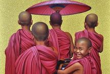 Monks.. / Monks and monasteries. / by Davia Bailey