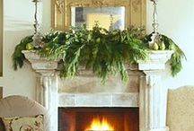 Holiday: Christmas decor ideas / Holiday decorating ideas and holiday craft project ideas / by Jen Rizzo
