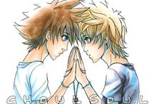 Kingdom Hearts and Final Fantasy / by ~haley's on pinterest~