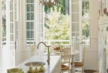 Home decor:Kitchen inspiration and ideas / Kitchen design and kitchen decorating ideas / by Jen Rizzo
