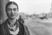 Frida Kahlo / by Elisabeth Dingivan