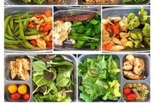 clean eating - lunch / by Heather Bagley