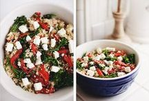 clean eating - sides, salads, & soup / by Heather Bagley