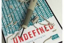 Undefined - Stamp Carving / Design and make your own stamp. by Stampin-up. / by Char Laster
