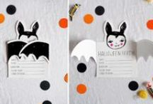 BOO / All things Halloween! Halloween decorations, cards, inspiration! Black cats, ghosts, bats, goblins, costumes...