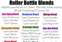 Oils - Roller Blends / by Heather Bagley