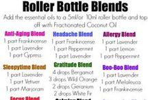Oils - Roller Blends / by Heather Bagley