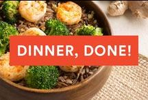 Easy Dinners / These quick, easy and delicious dinner recipes can be whipped up in no time, no matter your skill level. / by Greatist