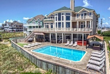 OBX Luxury Vacation Rental Homes / Sun Realty offers Luxury Vacation Rental Homes from Carova NC to Hatteras Island NC.