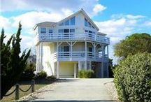 Duck NC Vacation Rentals / Example of some of Sun Realty's Duck North Carolina vacation rentals