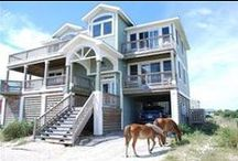 Corolla NC Vacation Rentals / Example of some of Sun Realty's Corolla NC rentals in the Outer Banks of North Carolina