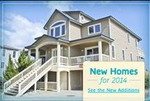 New 2014 Vacation Rental Homes / The perfect vacation NC beach home for your 2014 family vacation awaits! The Outer Banks vacation rentals featured here are all new to the Sun Realty program.