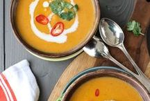 Soup Recipes / Check out these easy and healthy soup recipes - perfect for your stove top or crockpot. They taste perfect on those cold winter days (but we love them in the summer too).