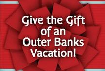 OBX Gifting / Here is a selection of gift ideas for those people on your list who can't wait until their next Outer Banks vacation! Give them a little piece of the OBX!