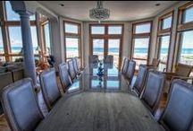 """Luxury Hatteras Island Vacation Rental / Experience oceanfront luxury like never before at """"Nautilus""""! Savor the stunning ocean to sound views on the spacious decking while taking time out in the warmth of the Hatteras Island sun."""