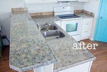 diy: kitchen reno / by Kelly Dent