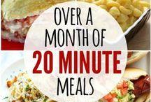 Easy, Cheaper, or Make Ahead Meals