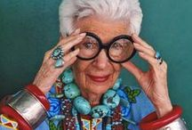 fashion icon: iris apfel