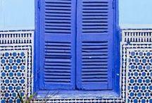BLUE / The colour blue