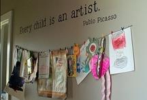 Art Displays / by Deborah @ Teach Preschool