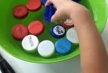 Bottle Caps / by Deborah @ Teach Preschool