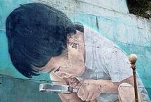 art_land art, street art and more / by Orsi Glavanovics