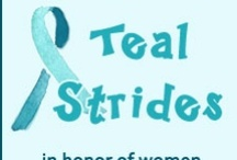 Teal Strides Across America / by Ovarian Cancer National Alliance .