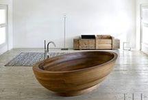 bathrooms / modern, minimal, fabulous