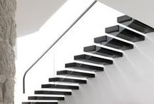 stairs / going up or coming down, is it the repetition of form or the possibility of where they lead that fascinates us?