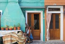 Burano | City of Colours / Burano is an island in the Venetian Lagoon, northern Italy; best known for its lacework and brightly coloured homes.
