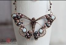 jewelry / how to's. wire. beaded. hippie and assorted handmade jewelry / by Becky Young-Skates